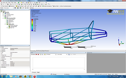 Ansys chassi