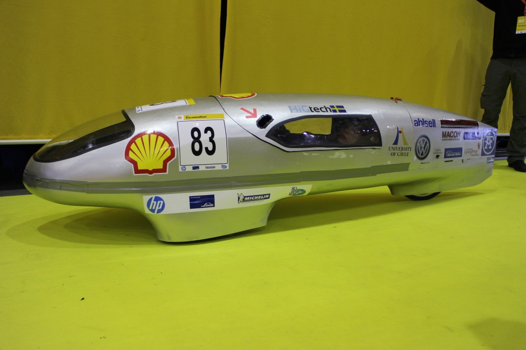 Nova at the Shell Eco Marathon 2014. Photo: Mattias Oppitz